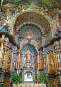 Capilla inmaculada concepción catedral de lima