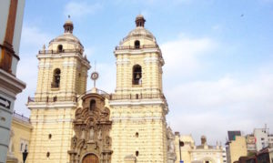 Catacumbas de Lima fachada iglesia san francisco de asis