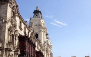 Catedral de lima fachada