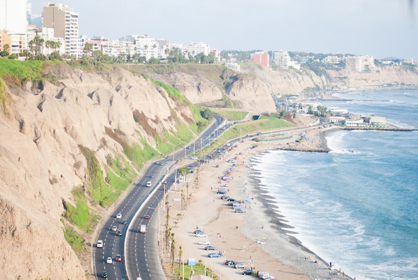Costa verde Lima