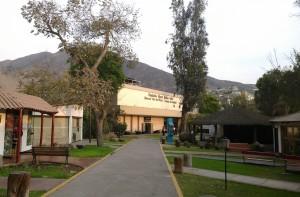 Exterior del museo del oro Lima