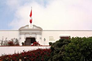 Fachada de Museo Larco