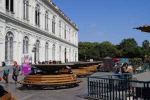 Fachada de museo de arte de lima