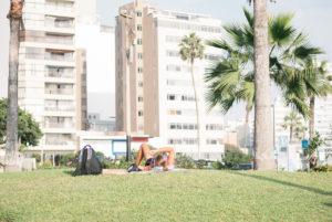 Malecon de miraflores en Lima