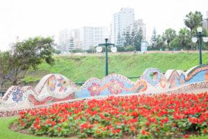 Mosaicos del parque del amor Lima