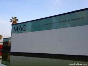 Museo de arte contemporaneo de lima MAC fachada