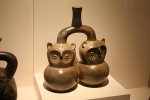 Piezas cerámicas del Museo Larco