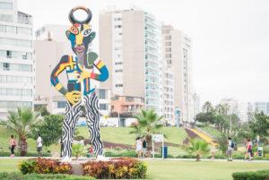 Parque del Libro Malecón de Miraflores Lima