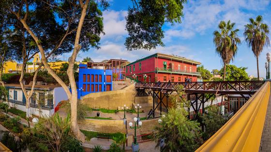 Puente de los suspiros Lima