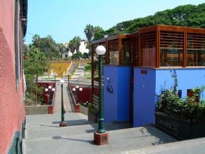 Puente de los suspiros de Barranco Lima