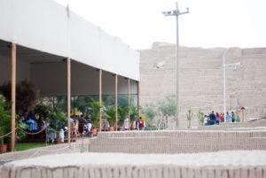 Restaurante y piramide de huaca pucllana de lima