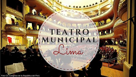 Teatro municipal de lima interior