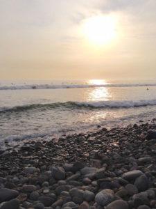 Atardecer miraflores Lima
