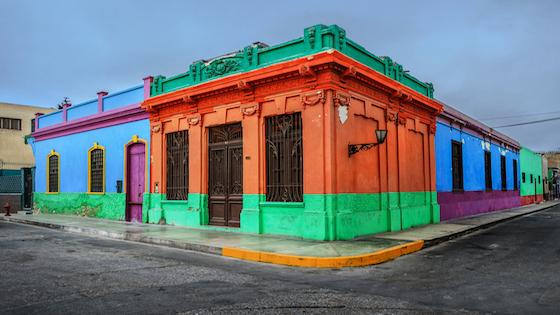 Calles en los barrios de Lima