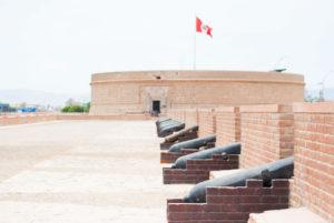 Zonas de la fortaleza real felipe