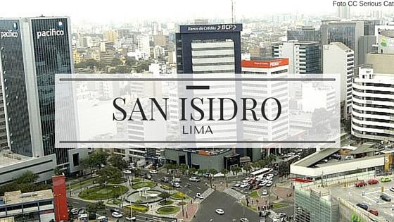 Edificios en San Isidro Lima