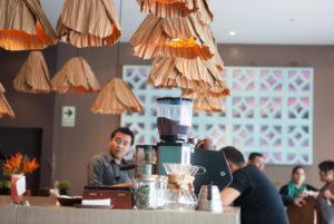 Interior de restaurante Amaz en Lima