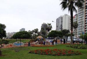 Jardines del Malecón de Miraflores Lima