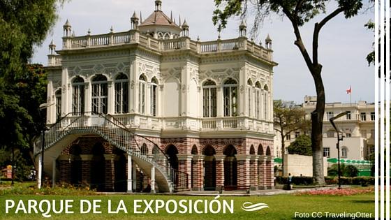 Pabellon morisco en el parque de la exposición Lims