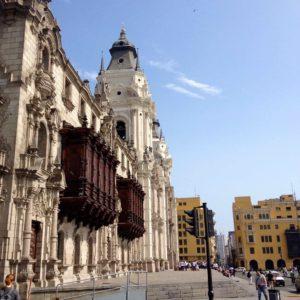 Vista casco historico Lima