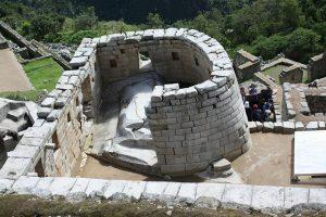 Templo en Machu Picchu