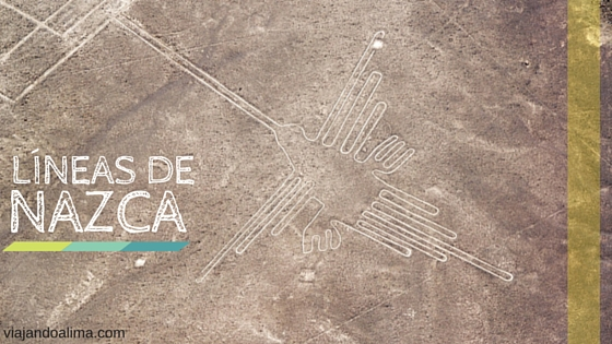 Vista aérea de las lineas de nazca Peru