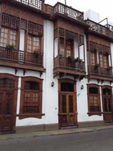 Calles de Barranco Lima
