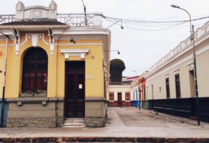 Calles de Barranco en Lima