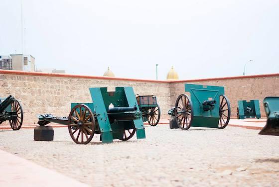 Fortaleza del Real felipe Lima
