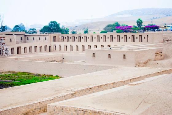 Centro arqueológico Pachacamac