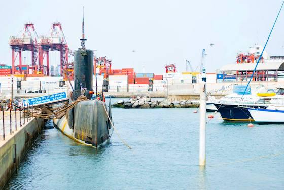 Submarino Abtao Lima